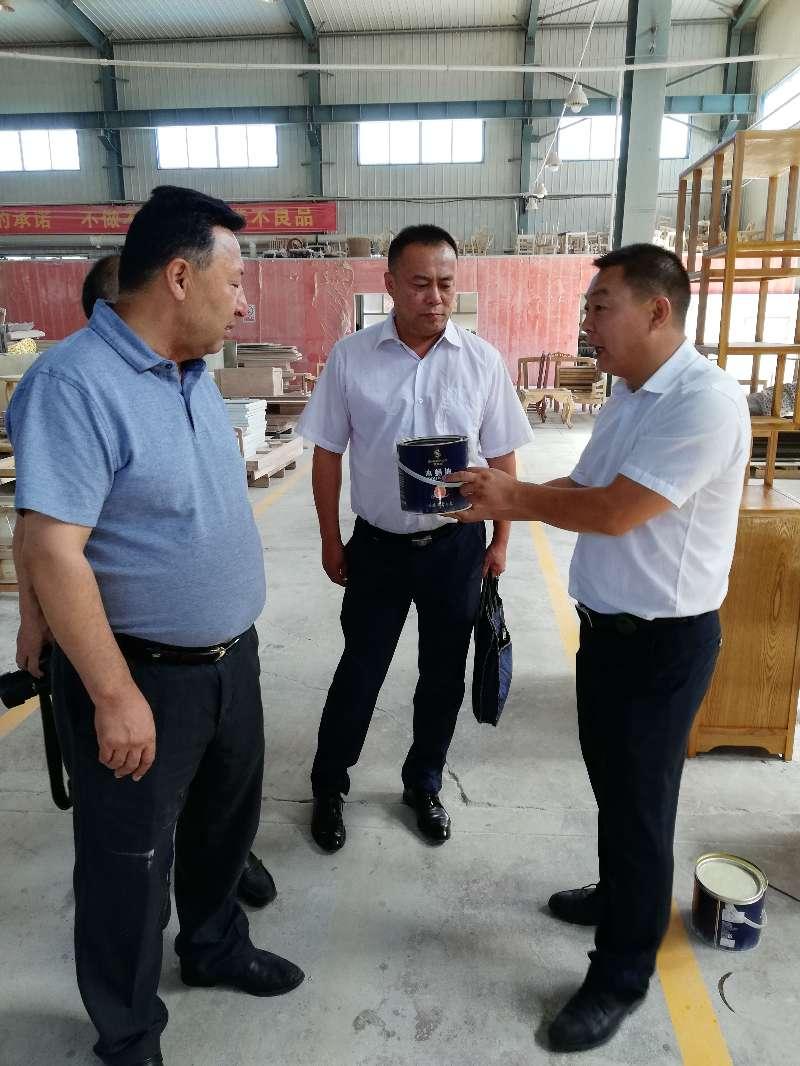 重磅!乌鲁木齐市政协主席艾山江造访世纪恒泰家具